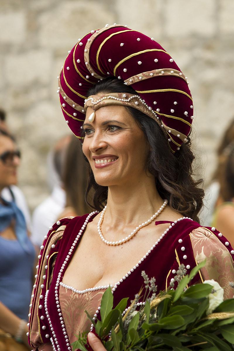 dama della quintana di Ascoli